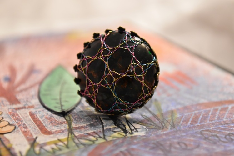 Ant bronze Rose Ring 2